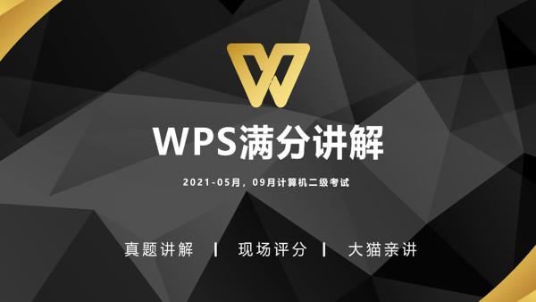WPS计算机二级真题讲解