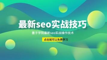 搜索引擎百度最新seo实战操作课程【墨子学院出品】