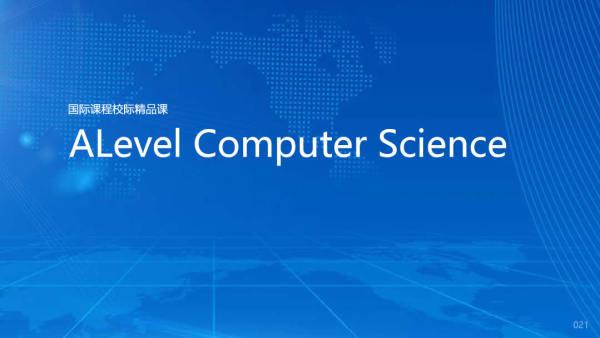 ALevel  Computer Science