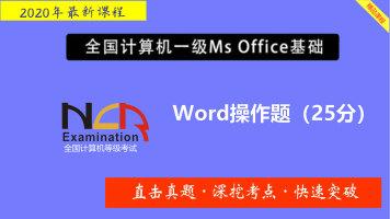 计算机等级考试一级MS Office字处理题精讲班(送题库)