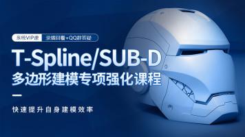 T-Spline/SUB-D多边形建模专项强化课程