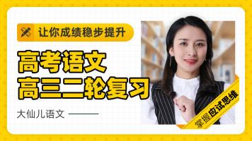 2021高考语文高三二轮复习-大仙儿语文