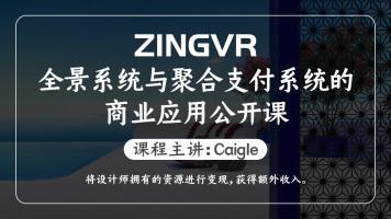 ZINGVR全景系统与聚合支付系统的商业应用公开课