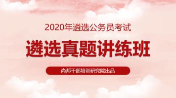 2020年遴选公务员考试真题讲练班