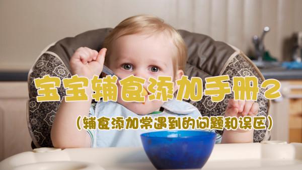 宝宝辅食添加手册2(辅食添加常遇到的问题和误区)