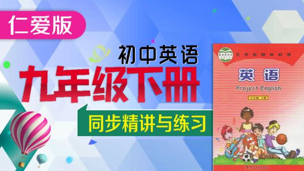 【仁爱版】初中英语九年级下册(初三)教材知识点精讲与练习课