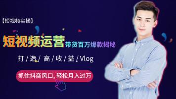 小白零基础-短视频vlog|短视频电商|短视频运营|电商引流带货|