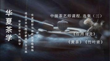 茶艺(师)培训课程——中级茶艺师课程•选集(三)