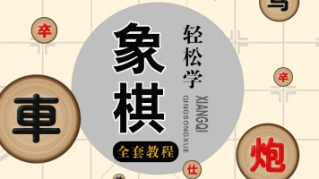 名师教学    轻松学象棋  零基础到精通全套教程