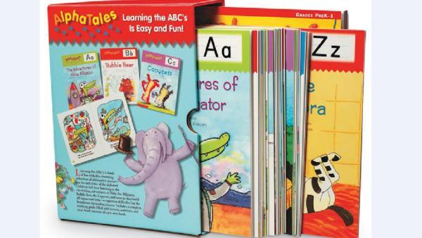 字母启蒙 | 英文绘本 Alpha Tales 阿尔法26个字母故事