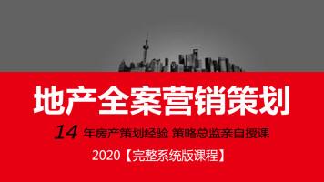 房地产全案营销策划《就业完整系统课》2020版