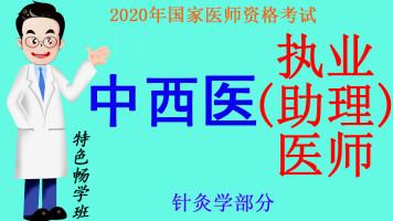 2020年国家医师资格考试中西医执业(助理)医师之针灸学部分