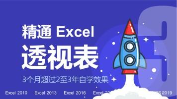 精通Excel视频教程-③数据透视表【朱仕平】