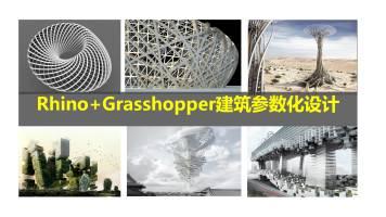 Rhino+Grasshopper建筑参数化中级课程