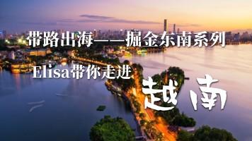 网商学院 | Elisa带你走进越南电商市场【带路出海系列课程】