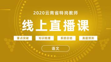 2020年云南省特岗教师直播课-语文
