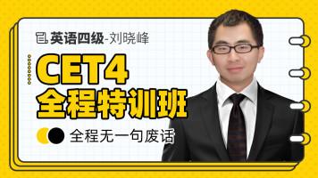 大学英语四级全程特训班-CET4-【刘晓峰英语】
