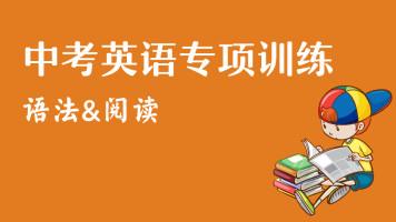 中考英语专项训练(语法、阅读)