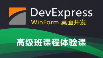 DevExpress WinForm 高级课程体验
