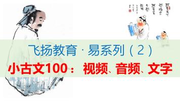 小古文100:视频、音频、文字【飞扬魔方·易系列】