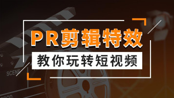 PR剪辑+影视特效/零基础入门/视频编辑/玩转抖音快手短视频/快剪