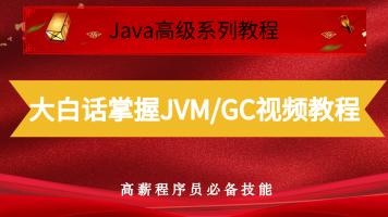 (独家)大白话掌握JVM/GC视频教程
