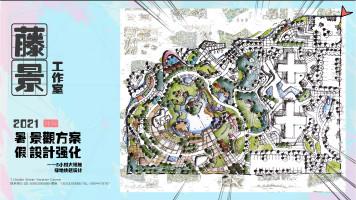 2021暑假方案强化课程-6小时大场地绿地快题设计