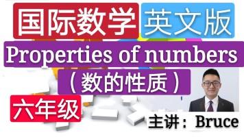【精品课】六年级小学国际英文数学(数的性质)