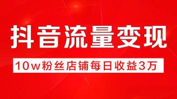 【变现】抖音电商 粉丝变现 企业蓝V认证 自媒体运营全套教程