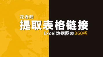 《Excel数据图表360招之提取表格链接》花随花心著