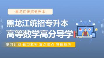 黑龙江统招专升本高等数学高分导学课