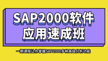 轩锐SAP2000软件应用速成班