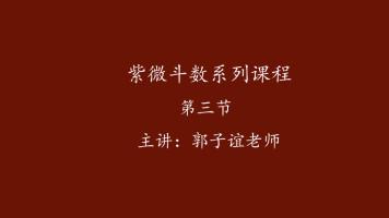 郭子谊讲紫微斗数系列课程【03】