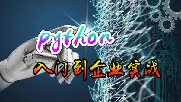 Python入门到企业实战系统课程