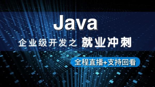 Java企业级开发就业冲刺班(全程直播)