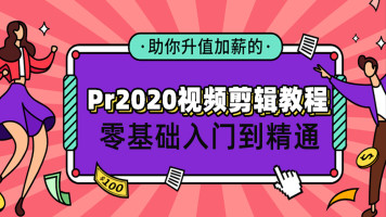 Pr2020视频剪辑教程零基础入门到精通