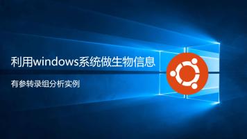 利用windows系统做RNAseq