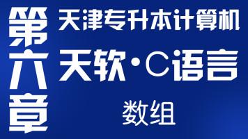 2021年天津专升本-大软C语言-第六章-数组