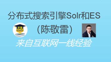 大数据人工智能文本策略分布式搜索引擎Solr和Elasticsearch框架