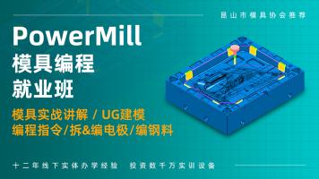 PowerMILL模具编程就业班