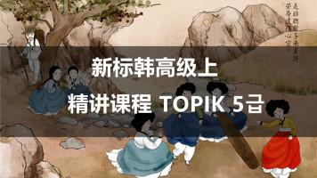 新标准韩国语高级上精讲课程
