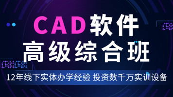 CAD软件  高级综合班(鼎典教育)