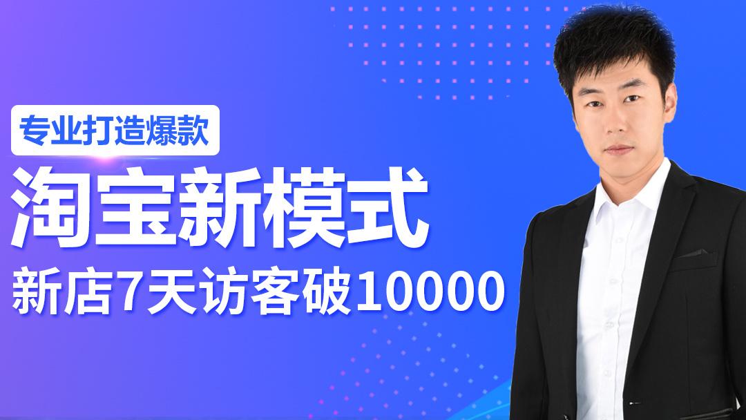 【淘帮主】淘宝新模式 7天访客破10000
