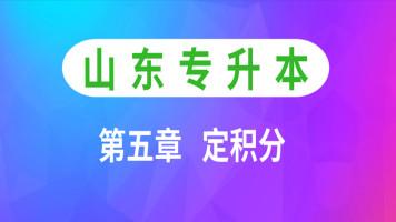 山东专升本高等数学/高数【第五章  定积分】