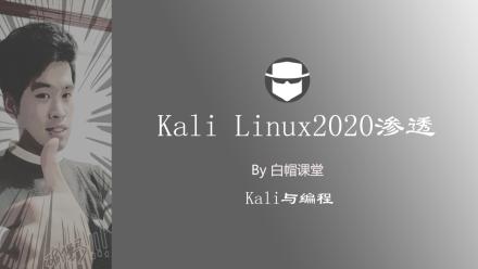 Kali Linux2020新系统攻防/Windows渗透/安卓Android渗透