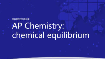 AP Chemistry  chemical equilibrium