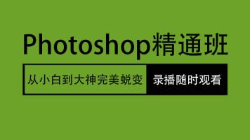 photoshop视频教程 人像精修 后期调色 淘宝美工 ps精致教程