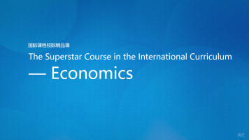 The Superstar Course in the International Curriculum