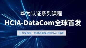 全新华为认证系列课程DATACOM入门到精通 数通HCIA HCIP HCIE