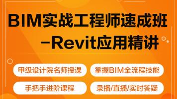 BIM建模实操  Revit应用精讲